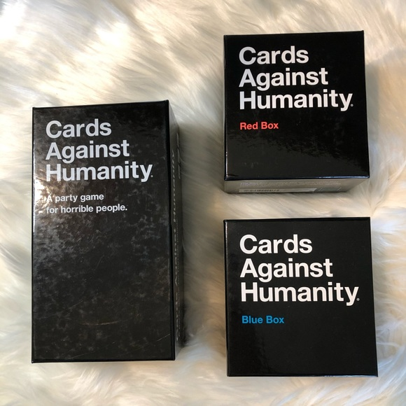 Cards Against Humanity main game PLUS expansions